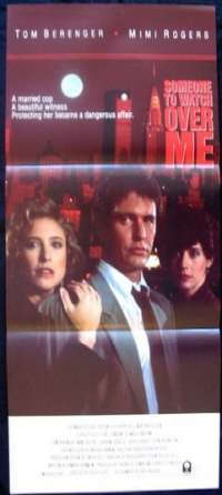 Someone To Watch Over me Daybill Movie poster