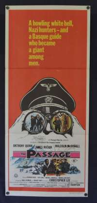 The Passage Daybill Poster 1979 Anthony Quinn James Mason Malcolm McDowell