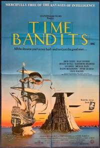 Time Bandits 1981 One Sheet movie poster Monty Python