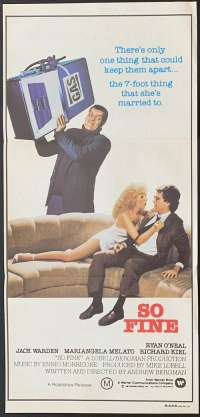 So Fine Daybill Movie poster