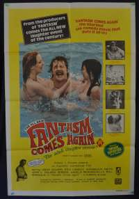 Fantasm Comes Again Movie Poster Original One Sheet 1977 Ozploitation John Holmes