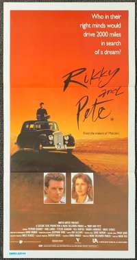 Rikky And Pete 1988 movie poster Bill Hunter Nadia Tass Australian Daybill