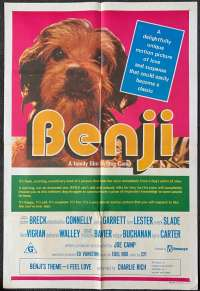 Benji One Sheet Australian Movie poster