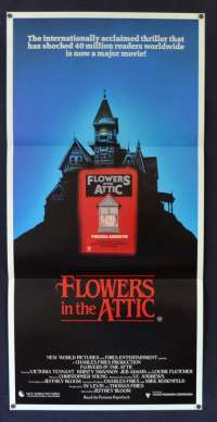Flowers In The Attic 1987 Daybill movie poster Kristy Swanson Victoria Tennant