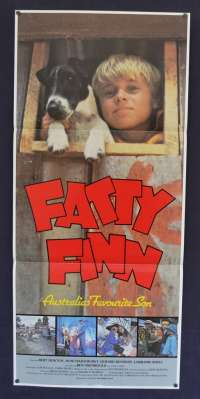 Fatty Finn 1980 Bert Newton Australian Daybill movie poster