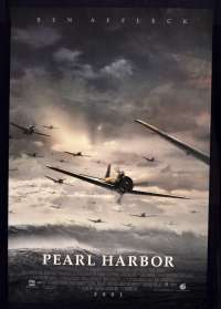 Pearl Harbour 2001 One Sheet ROLLED Movie poster Japanese Zero