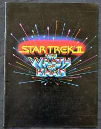 Star Trek 2 The Wrath Of Khan 1982 Original Press Book 19 Pages William Shatner