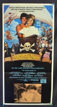 The Pirate Movie Kristy McNichol Christopher Atkins Daybill movie poster