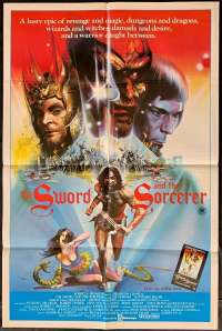 The Sword And The Sorcerer 1982 One Sheet movie poster Lee Horsley