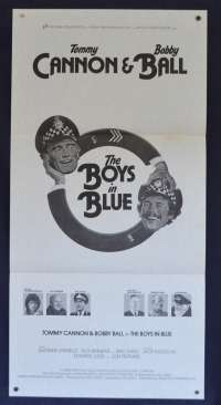 The Boys In Blue Movie Poster Original Daybill 1982 Tommy Cannon Bobby Ball
