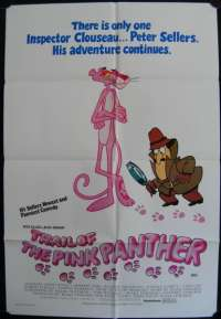 Trail Of The Pink Panther One Sheet Australian Movie poster