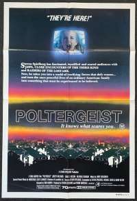 Poltergeist One Sheet Australian Movie poster