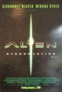 Alien 4 Resurrection One Sheet Poster Rolled Sigourney Weaver